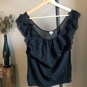 Wilfred 100% silk top - size M